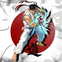 Ryu the Wandering Warrior by MasterEni2009
