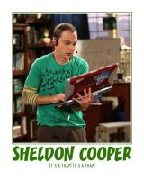 Sheldon Cooper by zishan07