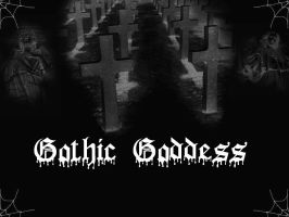 Gothic Goddess Wallpaper by TheVampireQueen