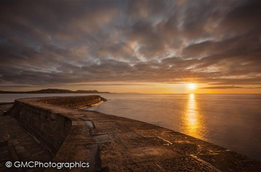 Sunrise over the Cob by GMCPhotographics