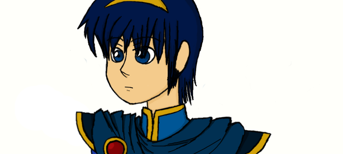Oh Look, It's Marth. by MiyuraWindsong