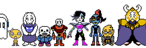 Lost hope AU Sprite edits by NoahxCodyfan12