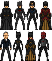 Nolanised Bat-Family v.2 by MicroTraceour