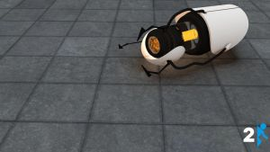 Portal 2 ASHPD Background by JesseLieberg