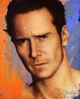 Michael Fassbender by Acolnahuacatl