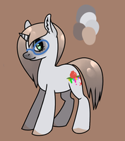 My little OC by CowberryBone