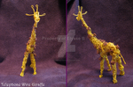 The Wirey Giraffe by Guiled-Dragon