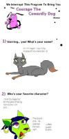 Courage Meme with Cats by Zee-Stitch