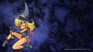 Dark Magician Girl [Wallpaper] by WhatsHisFace666