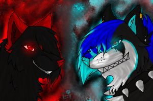 Rose The Killer and Insanity Ocean by RadioactiveWolf36