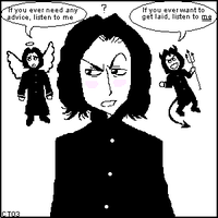Severus Snape's Conscience by caitlin-t