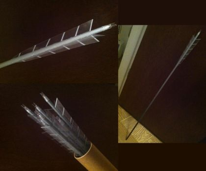 Katniss Everdeen's Training/Arena Arrows by SolemnWishes