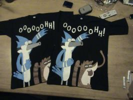 OOOOOOHH! - Regular Show T-Shirts. by Zortegus