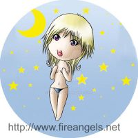 Fireangel Buttons 2 by Aine55