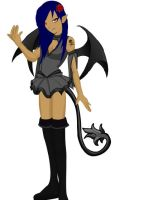 me as a succubus-doll wizard by lucario515
