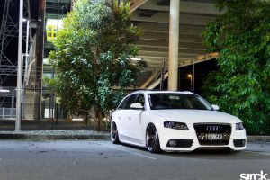 Bagged Audi by small-sk8er