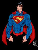 DC New 52 Superman by pascal-verhoef