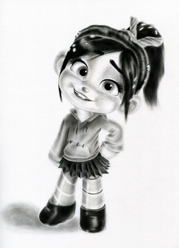 Vanellope - Awww... Really? by artistsncoffeeshops