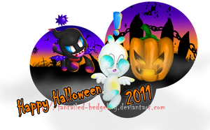 Happy Halloween 2011 by Fantailed-Hedgehog