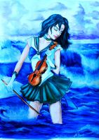 Sailor Neptune Michiru Cayo by AnQuirks