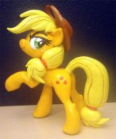 Applejack Sculpt Painted by AlicornParty