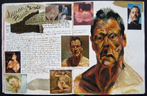 Lucian Freud Page by Squeep
