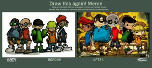 Draw Again meme by kraola