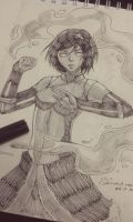 Inktober Day 10 Korra by MicehellWDomination