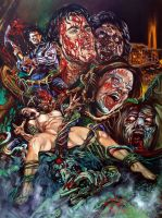 THE EVIL DEAD by Rick-Melton