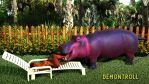 Hungry Hungry Hippo by demontroll