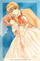 Request: SxS Bride and Groom by snowygem
