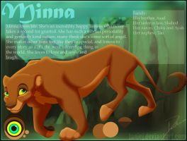 Minna Character Reference by LanieJ