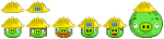 Yellow helmet pigs icon by RiverKpocc