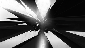Another Black And White Abstract Wallpaper by TomSimo
