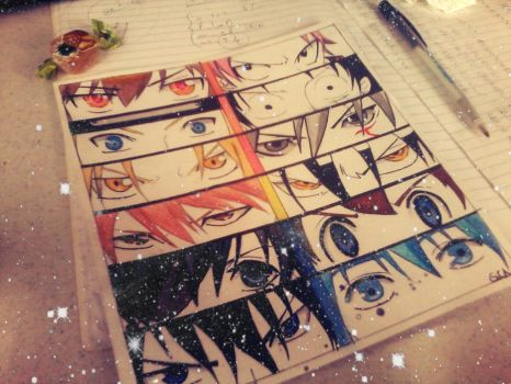 Shonen Eyes by TheSakuretta97