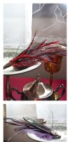 Feather Fascinators v.1 by taeliac