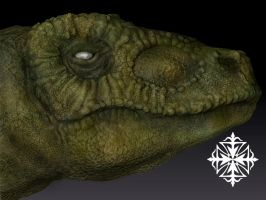 Deinonychus 3D by HereticTemplar