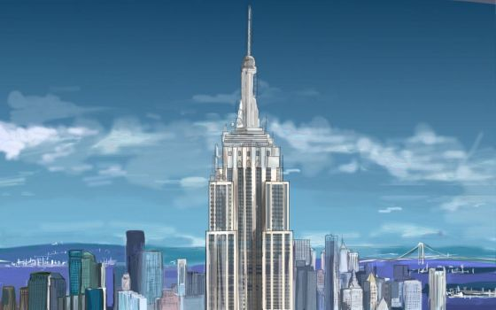 Empire State Building by StuffIllustration