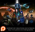 Nephy Goes to Patreon by UndyingNephalim