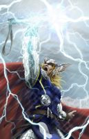 Thor, the Mighty by ogi-g