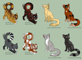 Cats - 2 by moonlite-adopts
