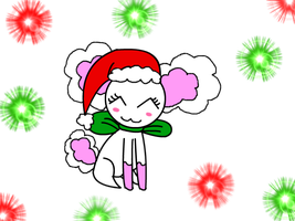 Christmas Chibi - Tippy by LillyTheSeedrian