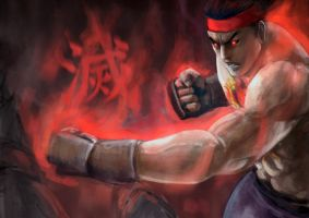 SF4 evil ryu by doneplay