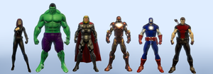 Avengers (DC Universe Online) by Macgyver75