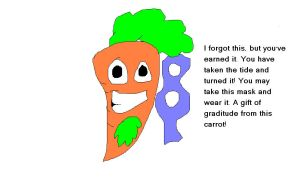 PEACE CARROT by That-Wacky-Whovian
