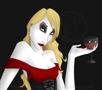 Of Course It's Wine by naughty-lil-rebel