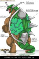 Pokedex 389 - Torterra FR by Pokemon-FR