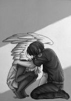 The Angel and the Guard by Shientah
