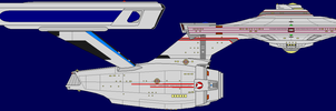 Constitution Class Refit by captshade