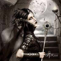 Dark Queen by vampirekingdom